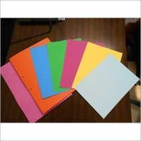 Colored File Board