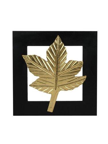 Decorative Wall Leaf Frame Maple