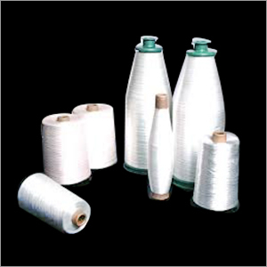 White Fiber Glass Yarns