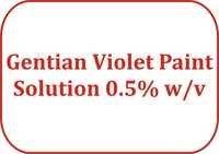 Gentian Violet Paint Solution 0.5% w/v