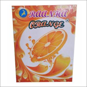 Orange Soft Drink Concentrate