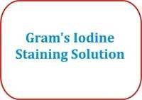 Gram's Iodine Staining Solution