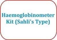 Haemoglobinometer Kit (Sahli's Type)