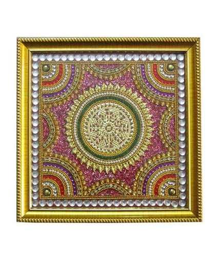 Stylish Circle Design Baajot Pooja Chowki