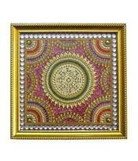 Stylish Circle Design Baajot Pooja Chowki