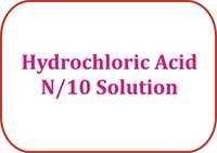 Hydrochloric Acid N/10 Solution