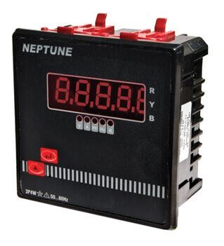 Three Phase Ampere Meter