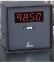 Digital Watt, KW and MW Meter