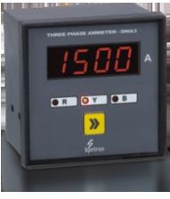 Three Phase Digital Ammeter [Type DMA-3]