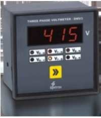 Three Phase Digital Voltmeter [Type DMV-3]