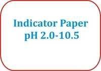 Indicator Paper pH 2.0-10.5