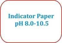 Indicator Paper pH 8.0-10.5