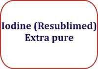 Iodine (Resublimed) Extra pure