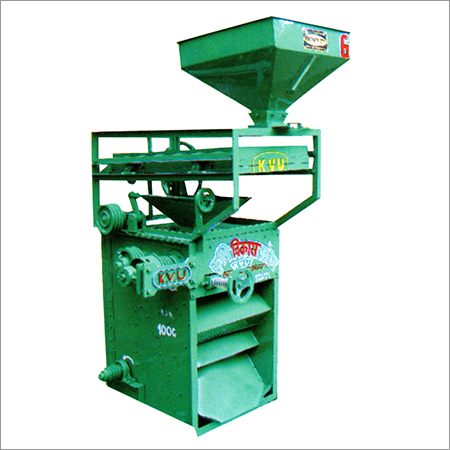 Paddy Sheller With Upper Cleaner