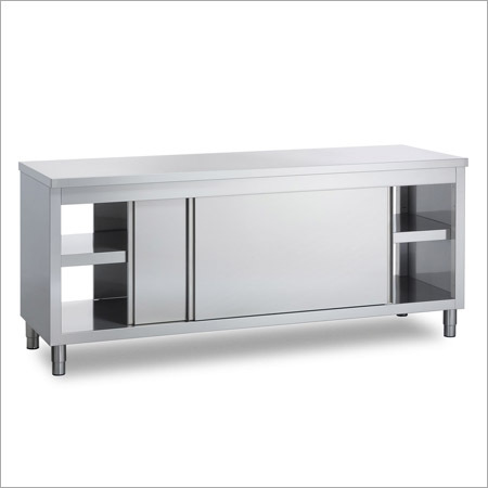 Perparation COunter WIth Sliding Door
