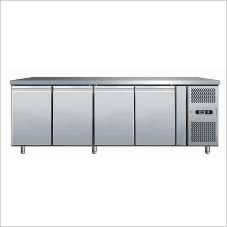 4-Door Under Counter Refre & freezer, Cap-800 to 1400 Ltr