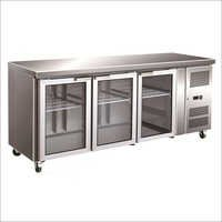 3-Door Under Counter Refr & freezer , cap-600-900