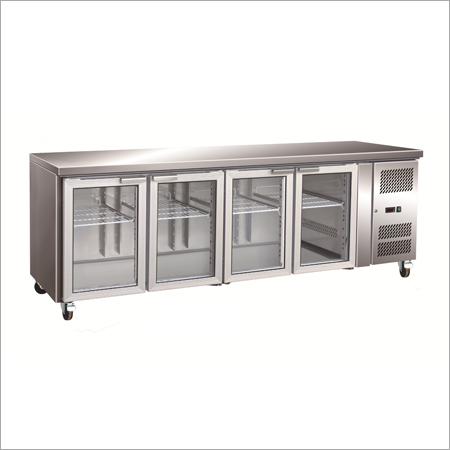 4-Door Under Counter Refre & freezer, Cap-800 to  1600 Ltr