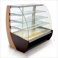 C-Glass Pastry Dispaly counter, Air & Static Cooling