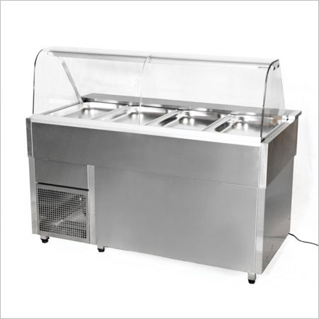 Cold Salad Counter, WIth GN Pan