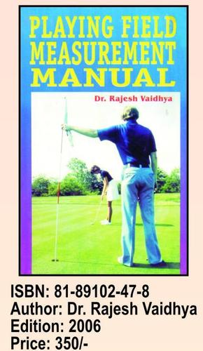 Playing Field Measurement Manual Book