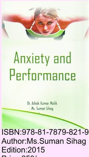 Performance Anxiety Books