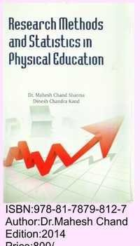 Reseacrch Methods & Statistics in Physical Edu.