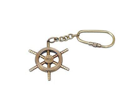 Copper Nautical Key Chain