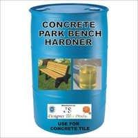 Concrete Park Bench Hardener