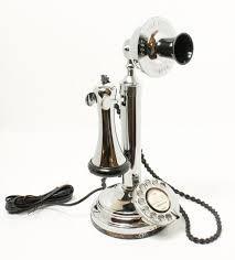 Chrome Telephone