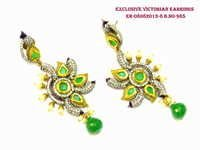Victorian Green Earring