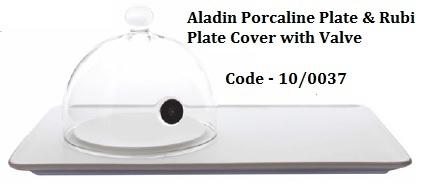 ALADIN PORCALINE PLATE & RUBI PLATE COVER