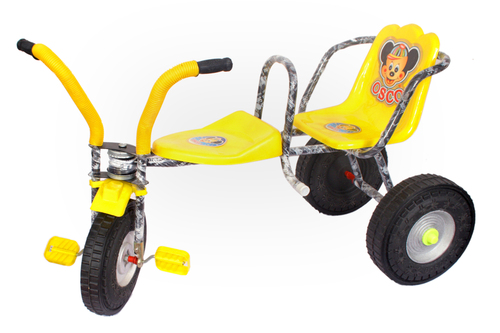 Kids Double Seat Tricycle