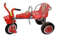 Two Seat Baby Tricycle