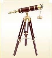 Nautical Antique Telescope