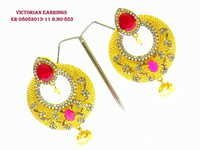 Exclusive Victorian Ruby Earring