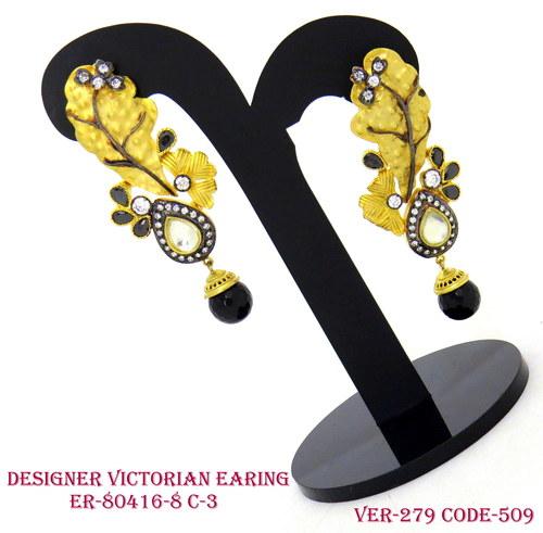 Victorian Earrings Imitation Jewellery