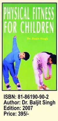Book on Physical fitnss for Children