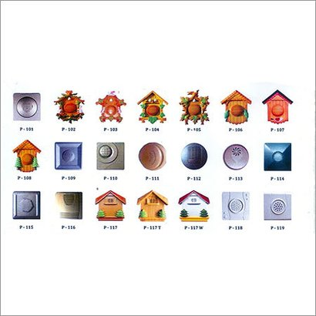 Bird Sound Doorbell Door Type: Wired