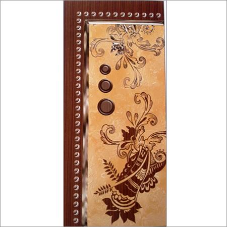 Digital Wooden Membrane Door