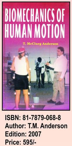 Book On Biomechanics of Human Motion