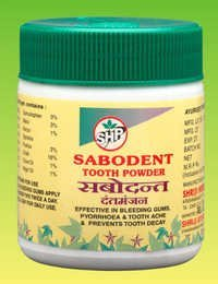 Sabodent Tooth Powder