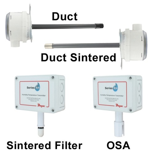 Duct Mount Humidity/Temperature Transmitter