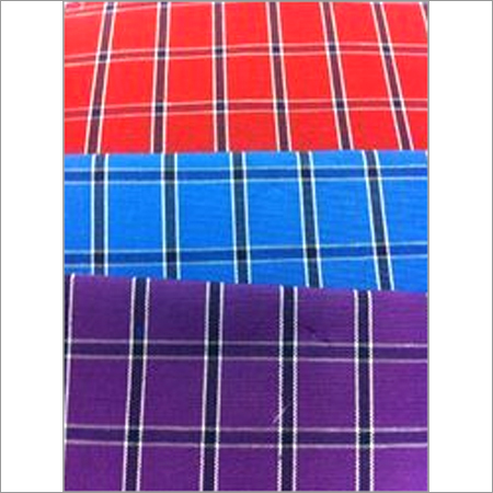 Dyed Yarn PC Cotton Shirting Fabric - Chex