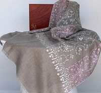 Embroidered Pure Pashmina Shawl