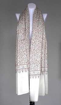 Embroidered Woolen Pashmina Shawl