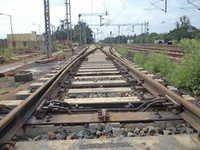 Railway Track Crossing