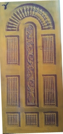 Teak Wood Designing Door