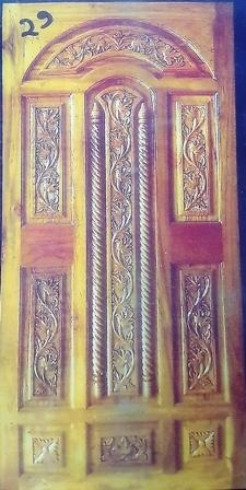 Traditional Design Sagwan Door
