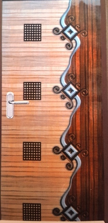 Laminated Fancy Sunmica Door